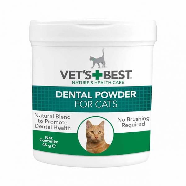 Vets Best Tannpleiepulver til katt