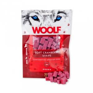 Bilde av Woolf - soft cranberry strips 100g