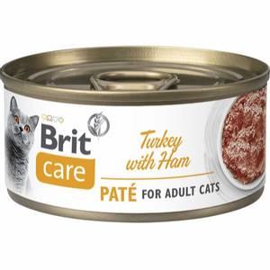 Bilde av Brit Care CAT Turkey Pate with Ham 70g