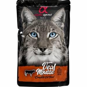 Bilde av AlphaSpirit CAT Veal Mousse Pouch 85g