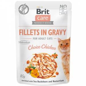 Bilde av Brit Care CAT Fillets Gravy Chicken 85g