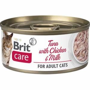 Bilde av Brit Care CAT Tuna with Chicken and Milk 70g