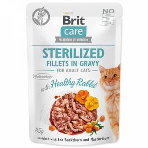 Bilde av Brit Care CAT Sterilized Fillets in Gravy Rabbit