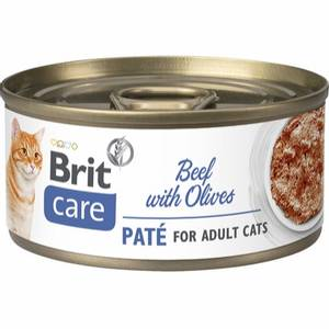 Bilde av Brit Care CAT Beef Pate with Olives 70g