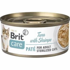 Bilde av Brit Care CAT Sterilized Tuna Pate with Shrimps