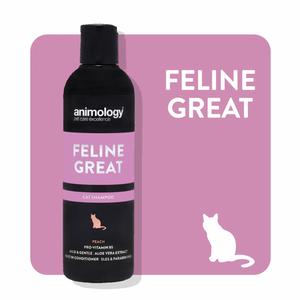 Bilde av Animology Cat Shampoo Peach 250ml