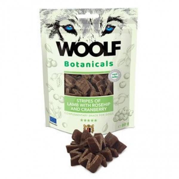 Woolf - Botanicals Lam med nype og tranebær 80g
