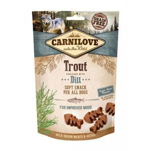Bilde av Carnilove Semi Moist Snack Trout 200g