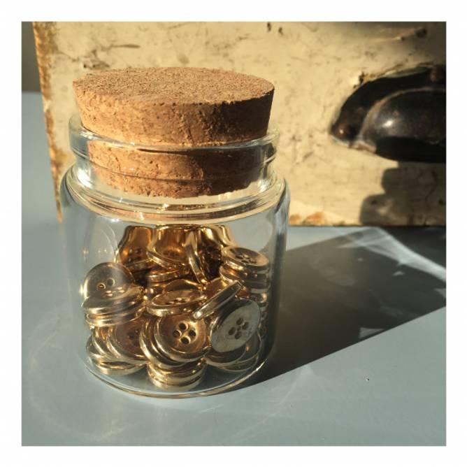 Bilde av Vintage gullknapper