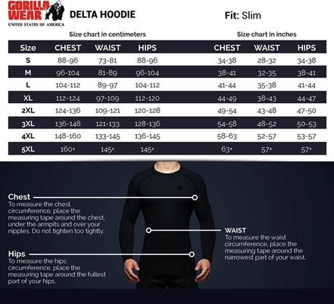 Delta Hoodie - Black