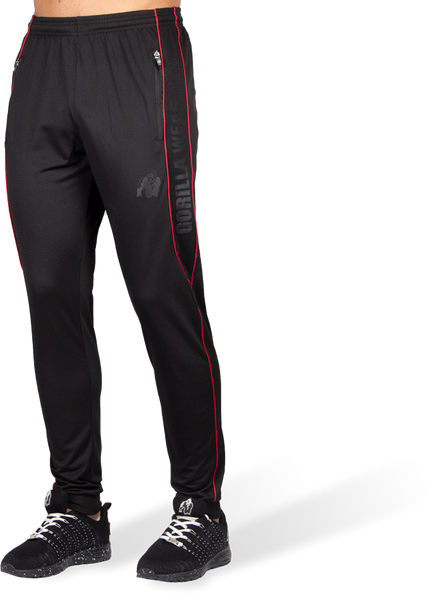 Branson Pants - Black/Red