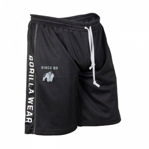 Functional Mesh Shorts - Sort/hvit