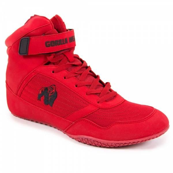Gorilla Wear High Tops - Red