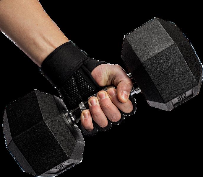 Yuma Weight Lifting Workout Gloves - Black