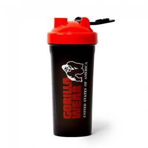 Bilde av Shaker Gorilla Wear XXL 1000ml - Black/Red