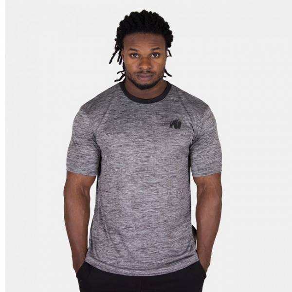 Roy T-shirt - Grey/Black