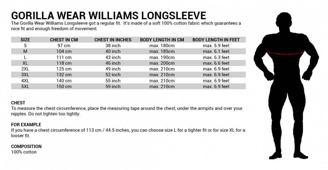 Williams Longsleeve - Black, 2XL