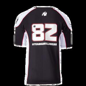 Bilde av Athlete T-shirt 2.0 Gorilla Wear - Black/White