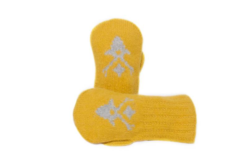 Miessi barnevott gul/lysgrå
