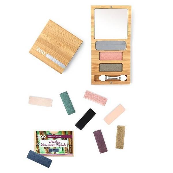 Bilde av ZAO Refillable Bamboo Duo Palette