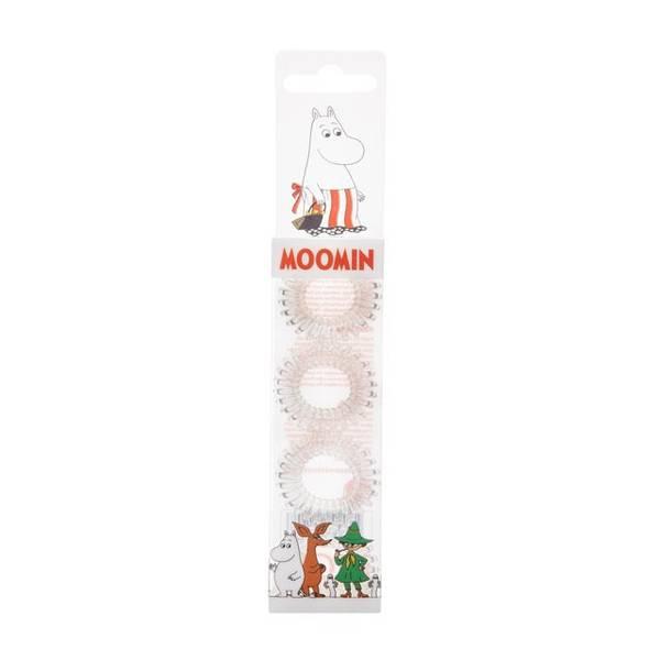 Bilde av Moomin Hair Ring Transparent 4 stk/pk