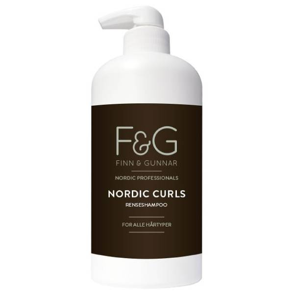 Bilde av F&G Nordic Professionals Curls Renseshampoo 900