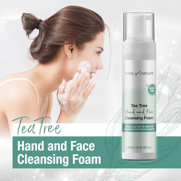 Bilde av Tints of Nature Tea Tree Hand and Face Cleansing
