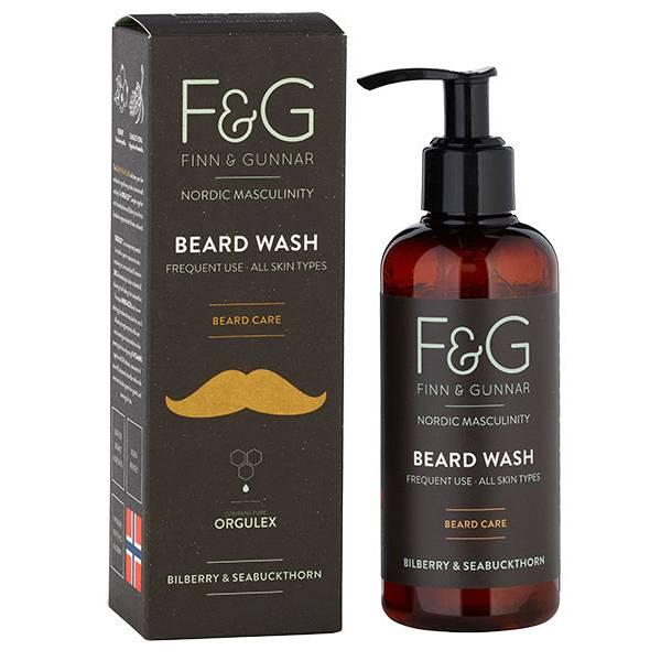 Bilde av F&G Nordic Masculinity Beard Wash 200 ml