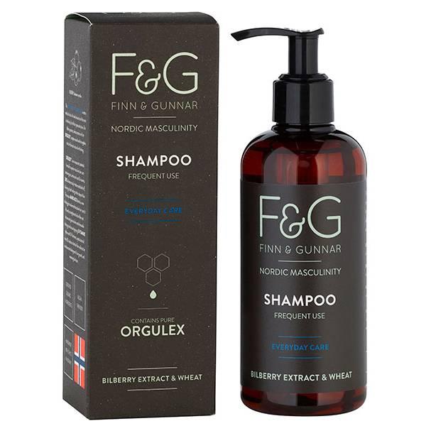 Bilde av F&G Nordic Masculinity Shampoo Frequent Use 250