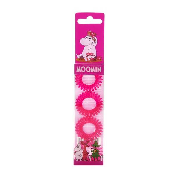 Bilde av Moomin Hair Ring Pink 4 stk/pk