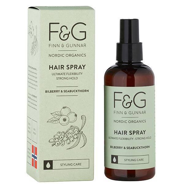 Bilde av F&G Nordic Organics Hair Spray Strong Hold 200 ml