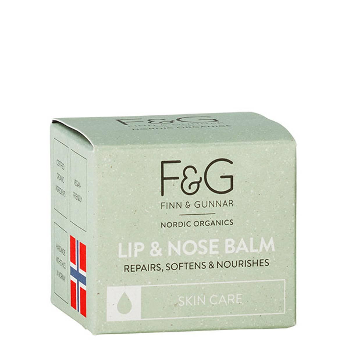 F&G Nordic Organics Lip Balm 30 ml
