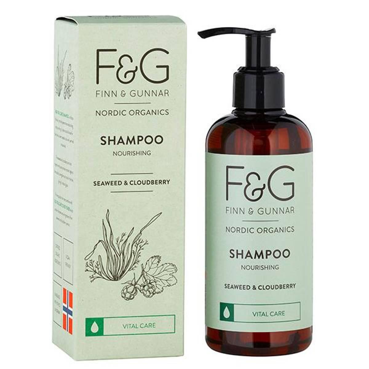 F&G Nordic Organics Shampoo Nourishing 250 ml