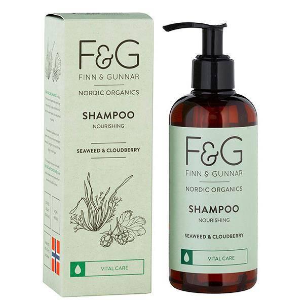 Bilde av F&G Nordic Organics Shampoo Nourishing 250 ml