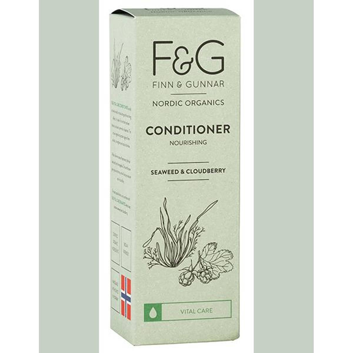 F&G Nordic Organics Conditioner Nourishing 200 ml