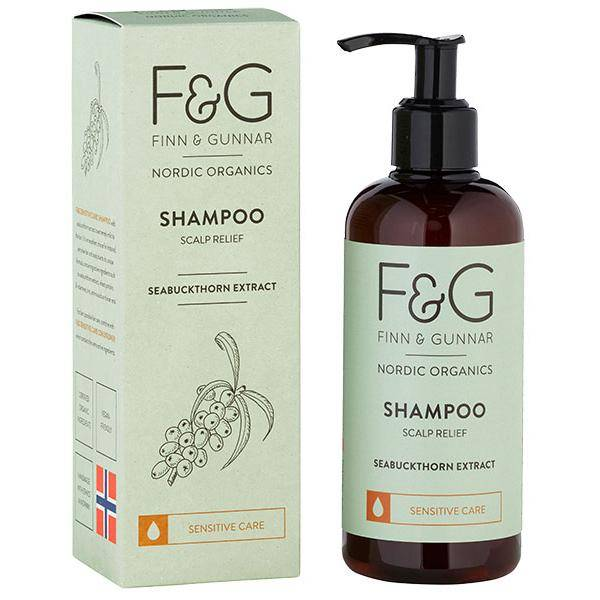 Bilde av F&G Nordic Organics Shampoo Scalp Relief 250 ml