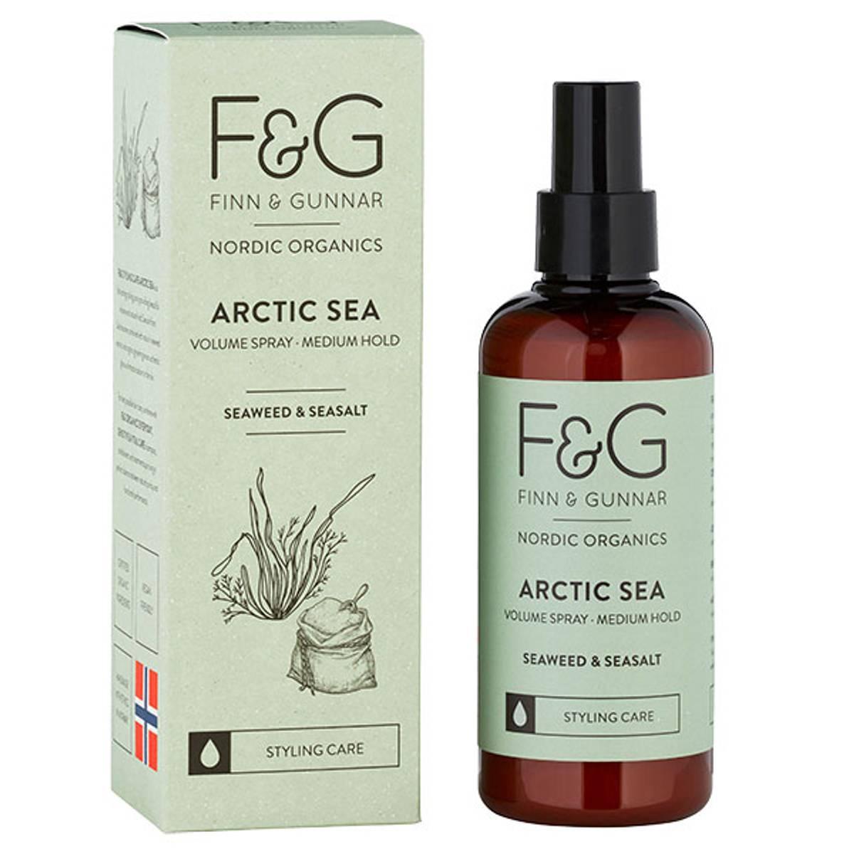F&G Nordic Organics Artic Sea Volume Spray 200 ml