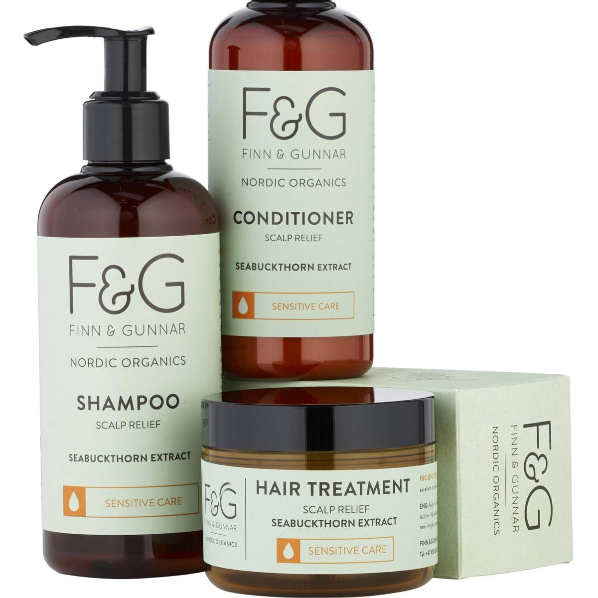 F&G Nordic Organics Treatment Scalp Relief 100 ml