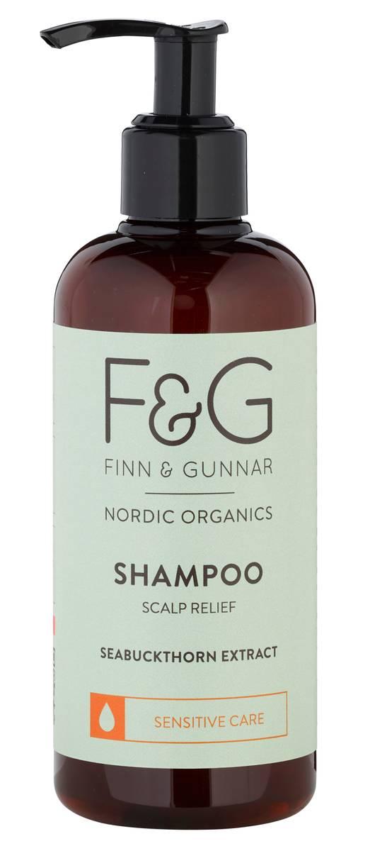 F&G Nordic Organics Shampoo Scalp Relief 250 ml