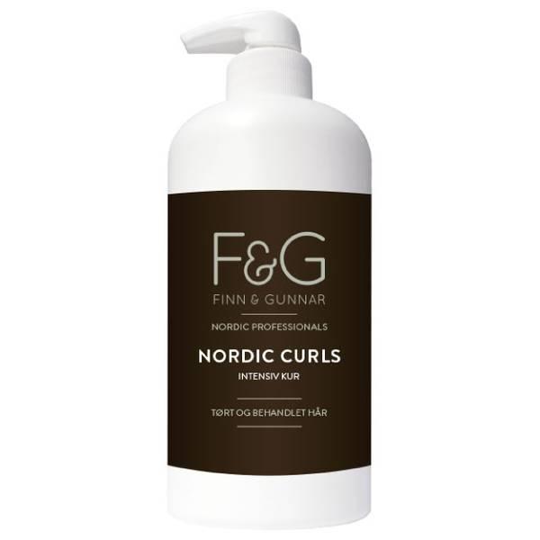 Bilde av F&G Nordic Professionals Curls Intensiv Kur 500ml