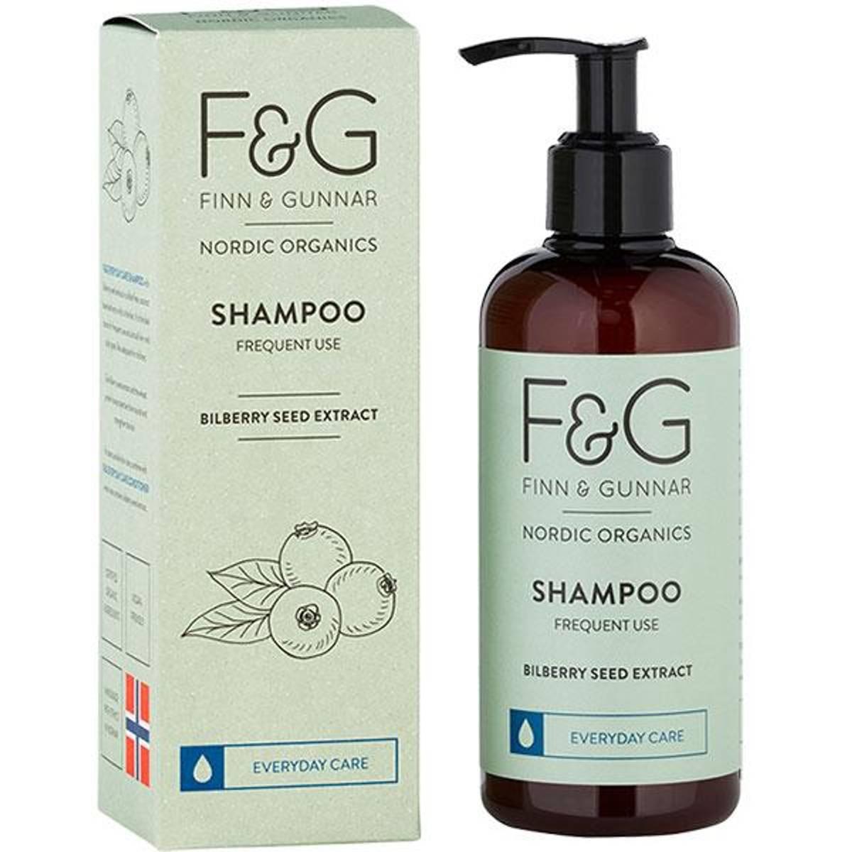 F&G Nordic Organics Shampoo Frequent Use 250 ml