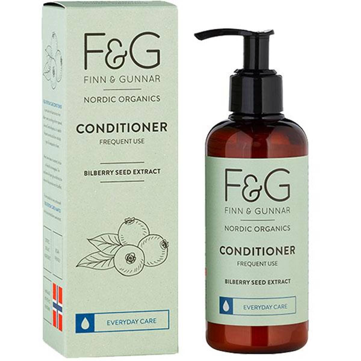 F&G Nordic Organics Conditioner Frequent Use 200 ml