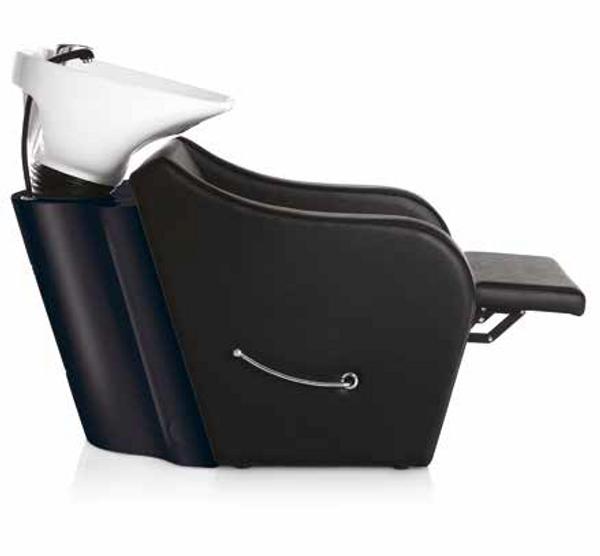 Bilde av Omega Plus vaskestol med fotstøtte