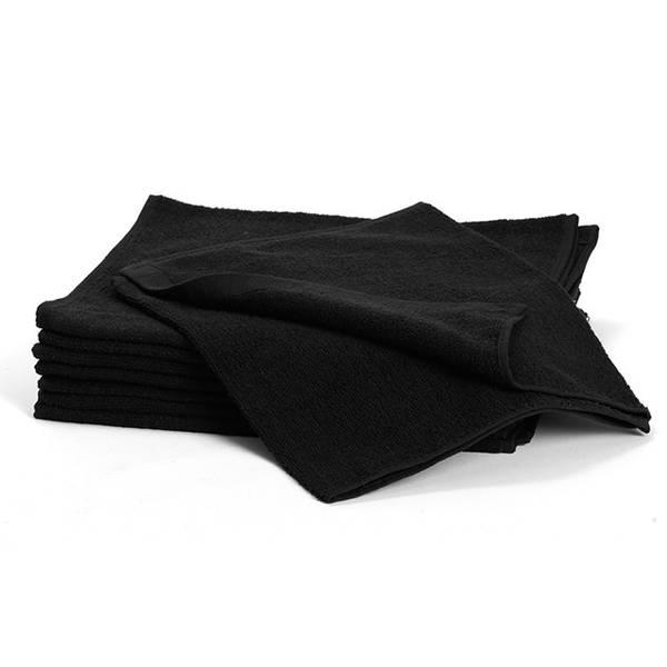 Bilde av Håndkle standard sort 34x82 cm