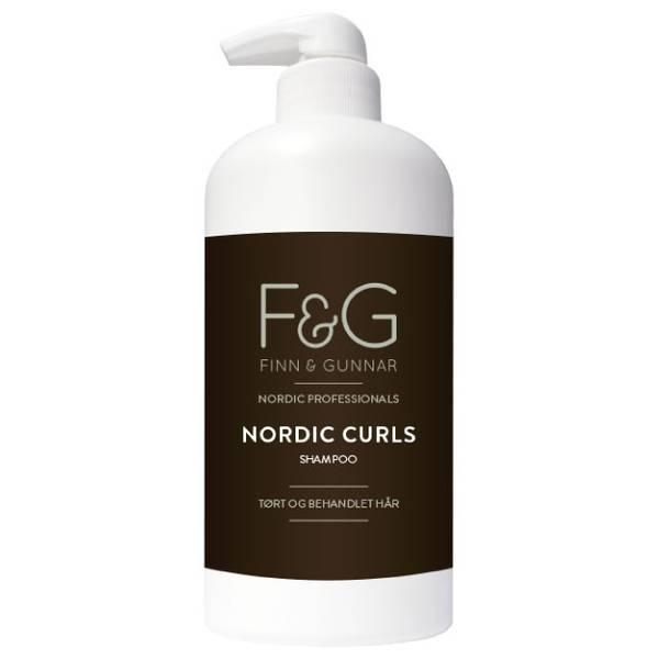 Bilde av F&G Nordic Professionals Curls Shampoo 900ml