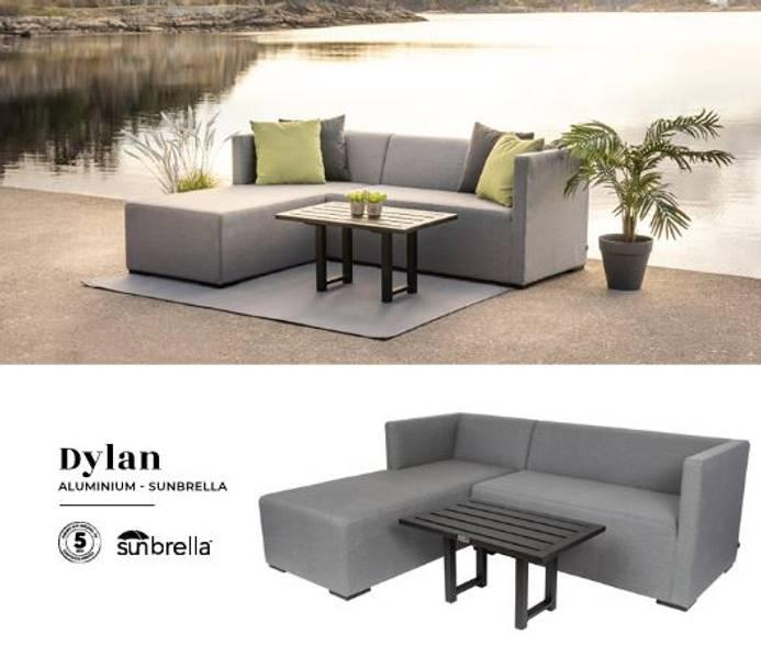 Dylan sofagruppe med sunbrella stoff