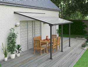 Bilde av OLYMPIA Terrassetak 3X4.25 GRÅ KLAR