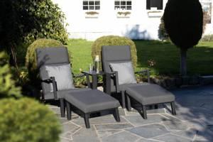 Bilde av Icarus Lounge Chair m/footstool