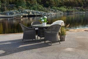 Bilde av Langøy spisegruppe – 4 stoler og bord