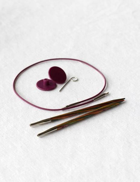 KnitPro utskiftbare pinner til 60 - 150 cm vaier Symfonie